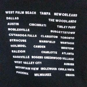 Tultex Shirts - Weezer summer concert band tour t shirt M